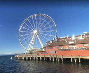Wheel on Pier 58